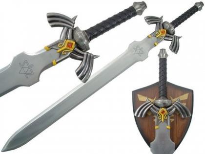 The Legend of Zelda Twilight Princess Links Master Sword