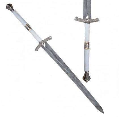 White Ice Eddard Steel Stark Game Sword