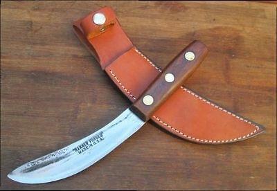 Hammered Carbon Steel Skinning Knife