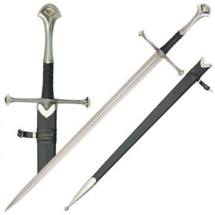 LOTR Anduril Sword with Scabbard Replica