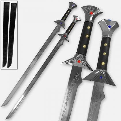 Drizzt Icingdeath Twinkle Scimitar Set