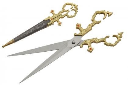 GOLD RENAISSANCE SCISSORS