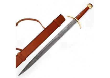 Damascus Blood Frenzy Functional Viking Sword