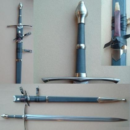 LOTR Strider Ranger Sword with Knife Scabbard Replica