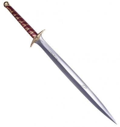 LOTR Sting Sword with Gold Plated
